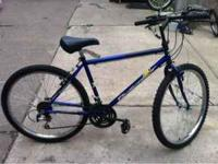 "This is a really nice mountain bike with 26"" rims. The"