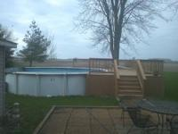 I have a 26 ft. abouve ground pool, deck, and extras