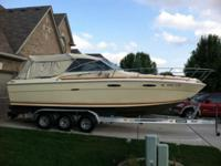1981 Sea Ray 260 26.3 ft. chevy 5.7 litre engine 350