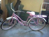 We have a Women's Coaster Bike for sale. This one is