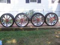 i selling my 26in wheels and tires give me a call if u