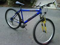 Looking to sell a 26in Pacific 21spd mountain bike with