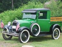 1929 Ford Model A Pickup Truck (Have fun driving & take