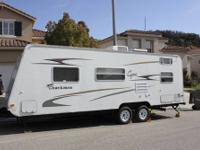 We our selling our 2006 Coachmen Capri travel trailer.