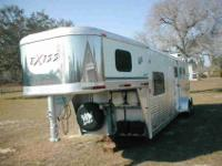 2004 Exiss sport all aluminum three horse slant load