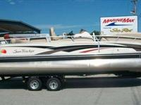 2008 Bass Tracker 26 PARTY BARGE This single-owner, all