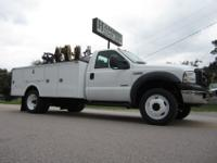 2007 Ford F-550 XL SD 4x4 Service / Lube Truck for