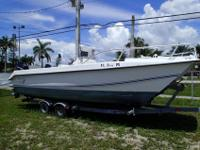 Just In On Trade 2007 Twin Vee 22' Center Console