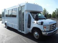 2008 Ford E-450 shuttle bus with 139k well maintained