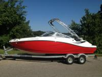 This is a loaded 2011 Sea Doo Challenger 210. It has a
