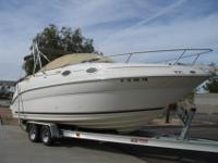 2000 Sea Ray 240 Sundancer Only 185 Original Hours on