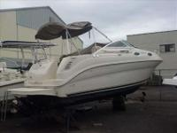 2002 Sea Ray 240 SUNDANCER This boat has been racked