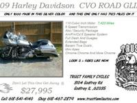 2009 Harley Davidson CVO Road Glide SCREAM'N EAGLE ROAD