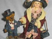 Amy and Edmund...Momma's Clothes figure by Boyds Bears