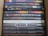 I have a lot of 27 Christian DVD's I would like to