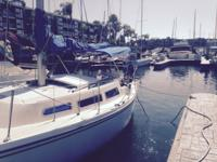 Nice Sailboat in good condition. Outboard motor 4