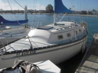 27 Ft Hunter Sail Boat Diesel Engine New Sails Perfect