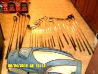 27 Golf Club Irons & Golf Bag Master Built TWS-5 Wilson