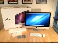 I bought this 27-inch iMac in late 2010 as a