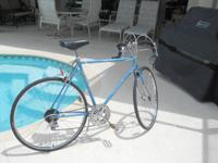 This is a 27 inch bike ,built in USA in the early 1970