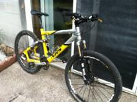 Selling my 27 Speed Giant NRS1 XC Full Suspension. The