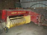 baler in good condition. Selling because we don't use