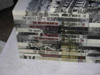 Time Life Books - World War II - 27 Volume Set - See