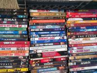 I am selling my 270+ DVDs for $270. Obo or $2.00 each