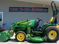 2720 John Deere 27hp Tractor and front end loader, 62""