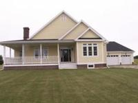 This one story home located on 1.24 acres outside of