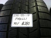 I Have actually A Used Set Of 4( 275-55-17) PIRELLI