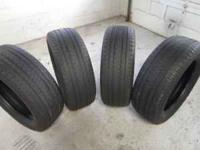 These tires are in good condition with 7/32 tread