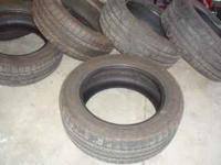 I have a set of 5 tires for sale. Size 275-55-20
