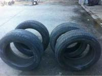 275/55/20 tires, bridgestone dueler h/l. decent tread,