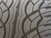 I have two 275 55 20 tires for sale, one is a Pirelli