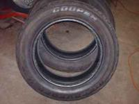 2 COOPER DISCOVERER H/T PLUS 270/60/R20 tires, with
