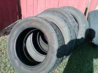 i have a set of goodyear 275/60/20 inch tires took off