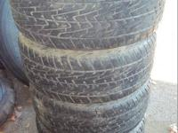 FOR SALE IS A SET OF 4 KELLY CHARGER TIRES SIZE