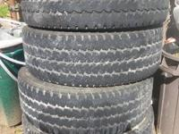 I have 4 275/70/17 firestone transforce at truck tires.