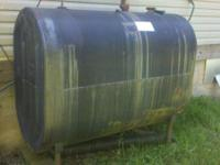275 gallon oil tank. In Good condition. Clean inside.