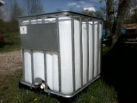 I have a 275 gallon skid mounted tank, was used for