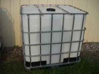 I have these 275-300 gallon totes they had food grade