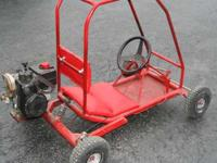 i have a nice red kids go kart up for sale or trade. it