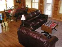 LUXURY 5 King Suite Log Cabin, 1 Mile Off Parkway , 3