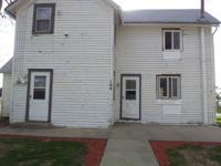 3 bedroom 11/2 bath house for sale in Dana, IA. It is