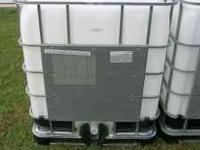 I have several very nice 275 gallon tote tanks for