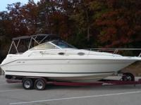 Ask for Randy at . 1994 Sea Ray Sundancer 270 DP. Full