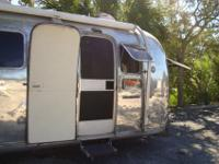 This classic 1972 airstream has new axels with