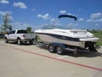 I'm selling my 2006 210 SSI Chaparral (Vhull)! Boat is