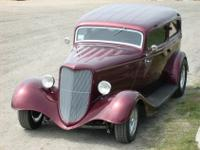For Sale by Owner1934 Ford 2 Door Sedan Hot RodSERIOUS